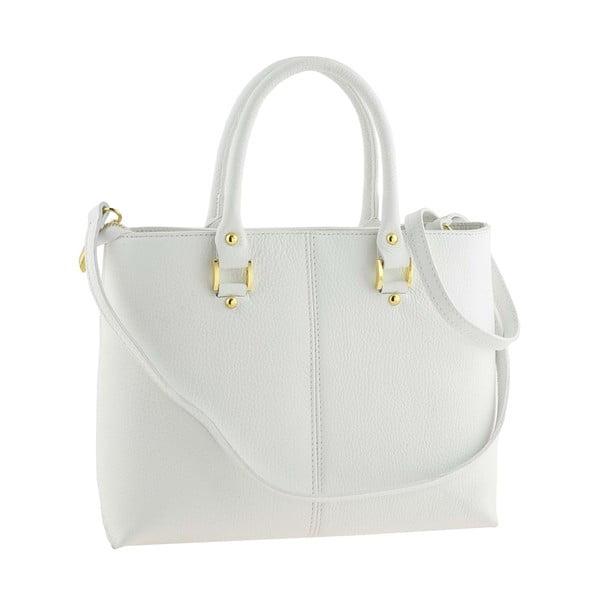 Kožená kabelka Bis White