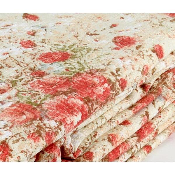 Růžový přehoz přes postel Love Colors Jayla, 200 x 240 cm