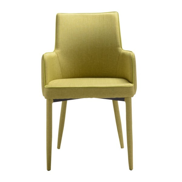 Sada 4 zelených jídelních židlí 13Casa Karl