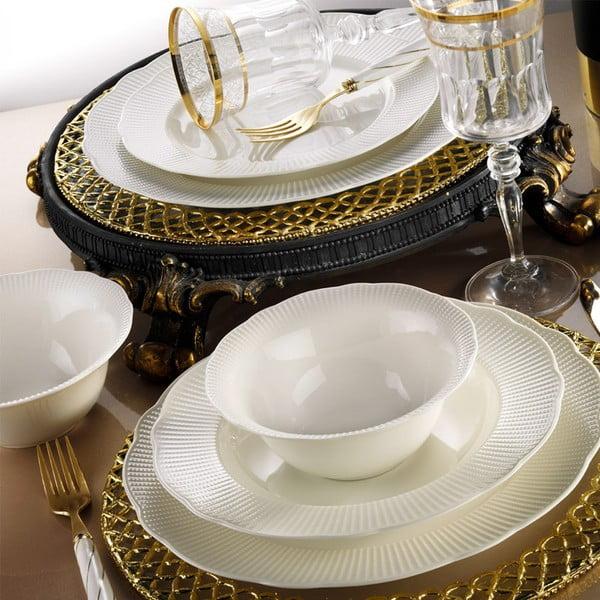 Komplet naczyń porcelanowych 24-częściowy Kutahya Golden Era