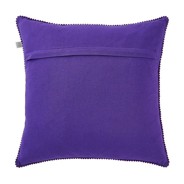 Polštář s náplní Vanisha Purple, 45x45 cm