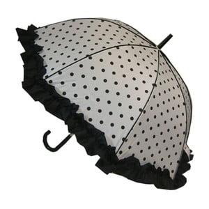 Deštník Polka Dot, black