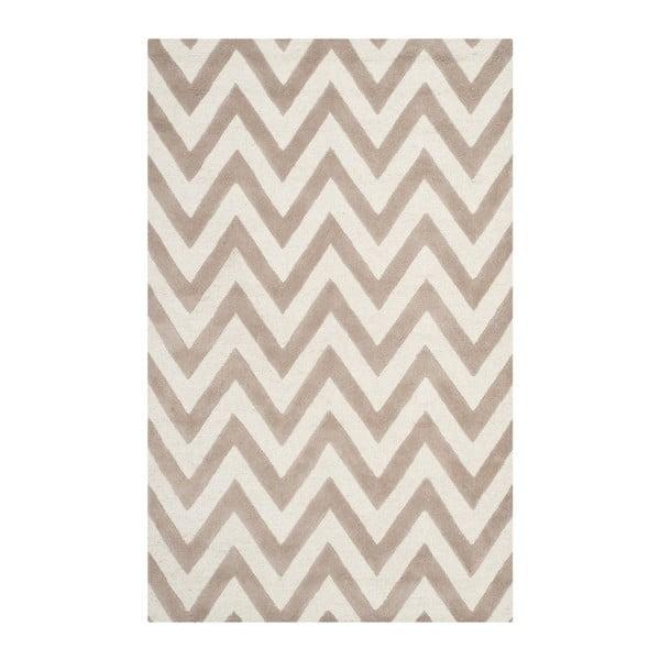 Béžový koberec Safavieh Stella, 76x182cm