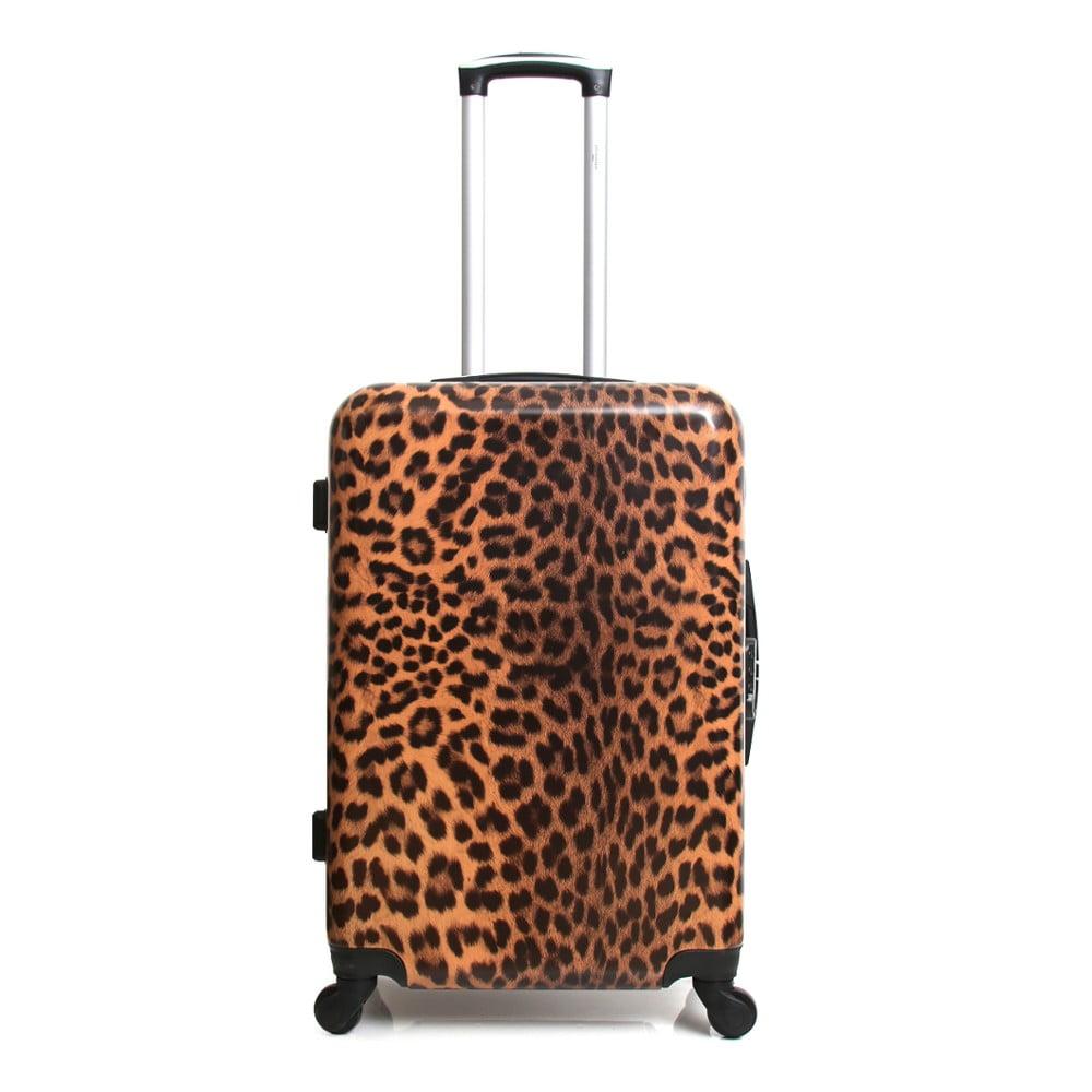 Cestovní kufr na kolečkách s potiskem Infinitif Lubeck, 42 l