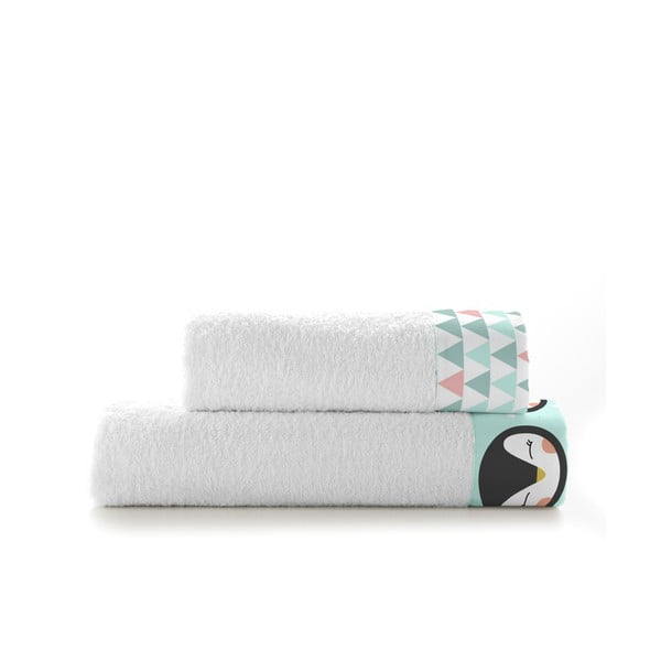 Set osušky a ručníku Happynois Skymo Day
