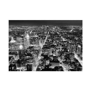 Osmidílná fototapeta Pohled z Empire State Building, 366 x 254 cm
