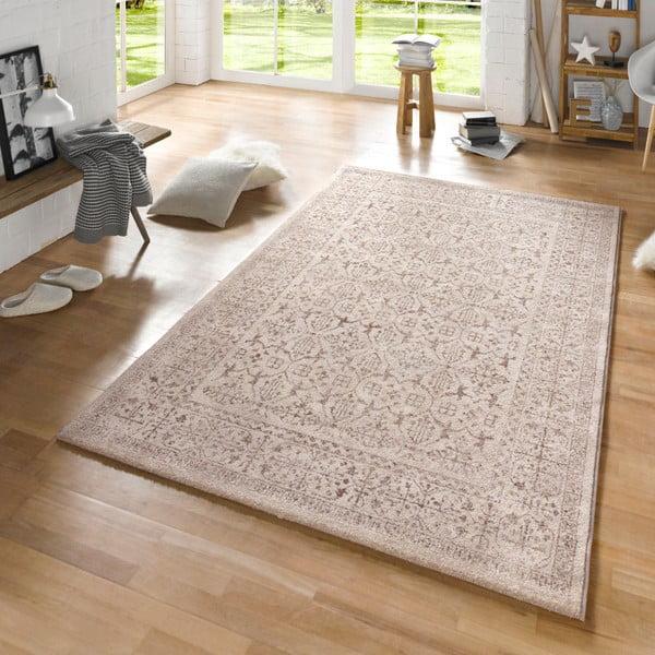 Béžový koberec Mint Rugs Diamond Details, 160x230cm