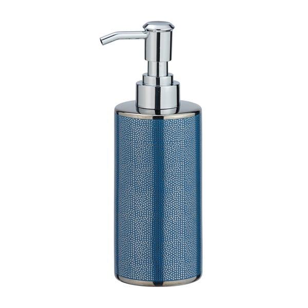 Modrý keramický dávkovač na mýdlo Wenko Nuria, 300ml