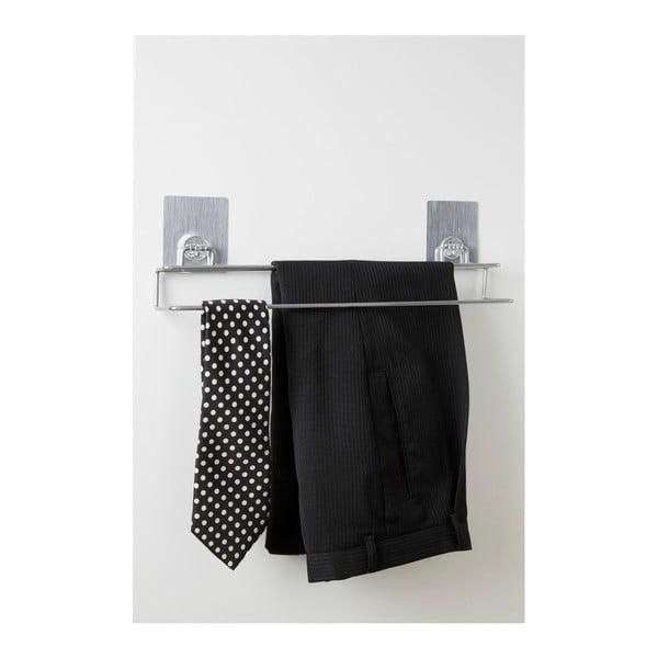 Ocelový věšák na kalhoty a kravaty Compactor Magic