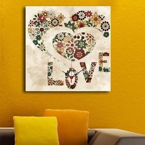 Obrazové hodiny Love