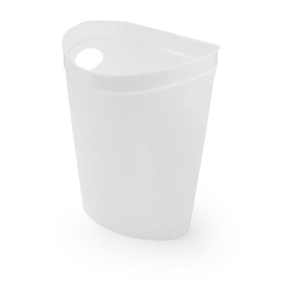 Coș de gunoi pentru hârtie Addis Flexi, 27 x 26 x 34 cm, alb