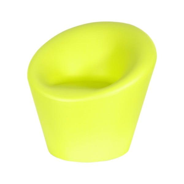 Venkovní křeslo Happy, zelené