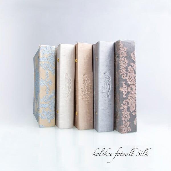 Fotoalbum Silk Ice, stříbrná