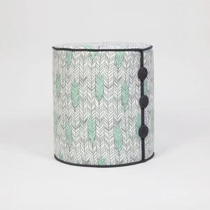 Sedací taburet Dombi Pluma, ⌀ 41 cm