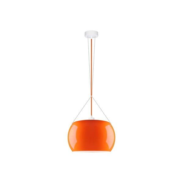 Oranžové lesklé závěsné svítidlo Sotto Luce MOMO