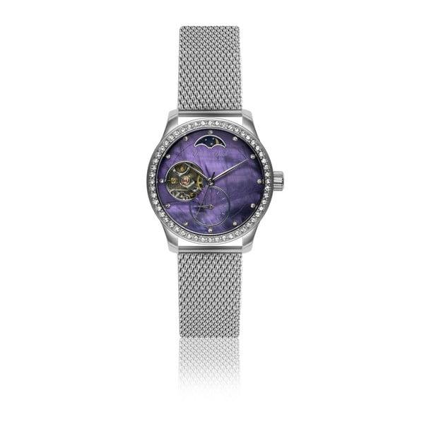 Dámské hodinky s páskem z nerezové oceli ve stříbrné barvě Walter Bach Maglia