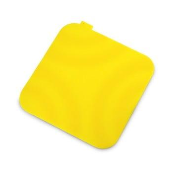 Suport din silicon pentru oală fierbinte Vialli Design, galben imagine