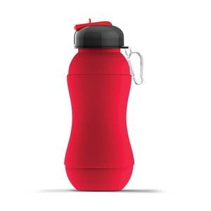 Revoluční sportovní lahev Sili-Squeeze, červená, 700 ml