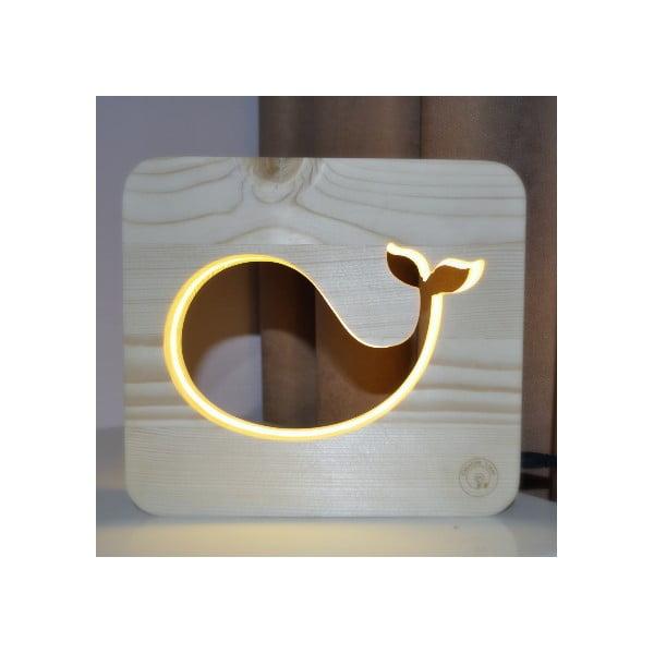 Dětská lampička Creative Gifts Velryba