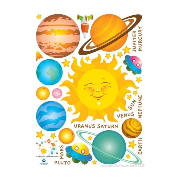 Samolepka Solar System, 40x40 cm