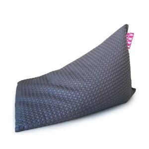 Sedací vak Pyramida (nylon šedý)