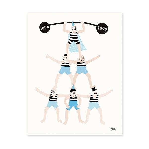 Plakát Michelle Carlslund Acrobats, 30x40cm