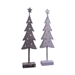 Sada 2 dekorativních stromů Ego Dekor Short