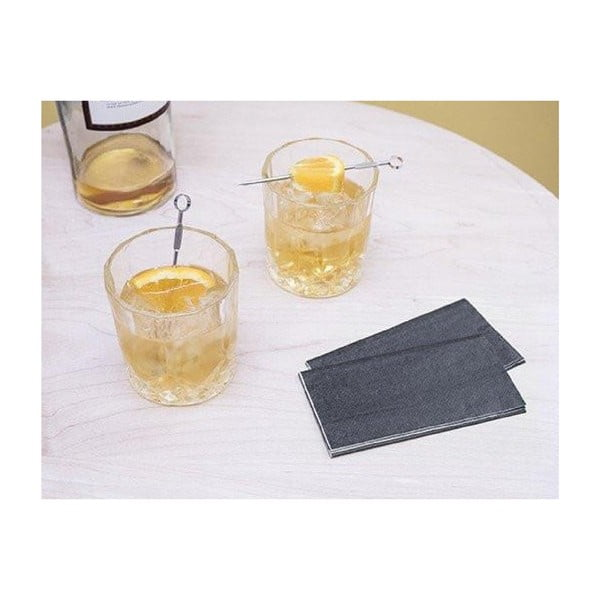 Sada 2 sklenic na whiskey snapichovátky Kikkerland, 300ml