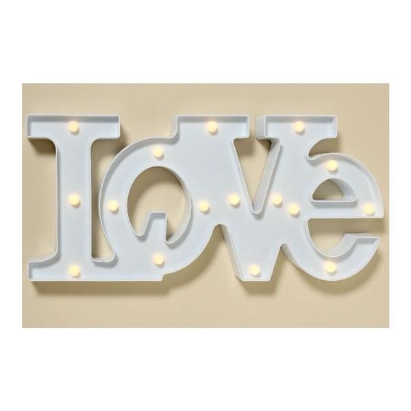 Nástěnná LED dekorace Love