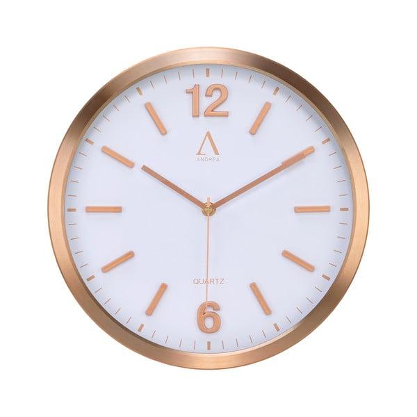 Nástěnné hodiny Copper, 30,5 cm