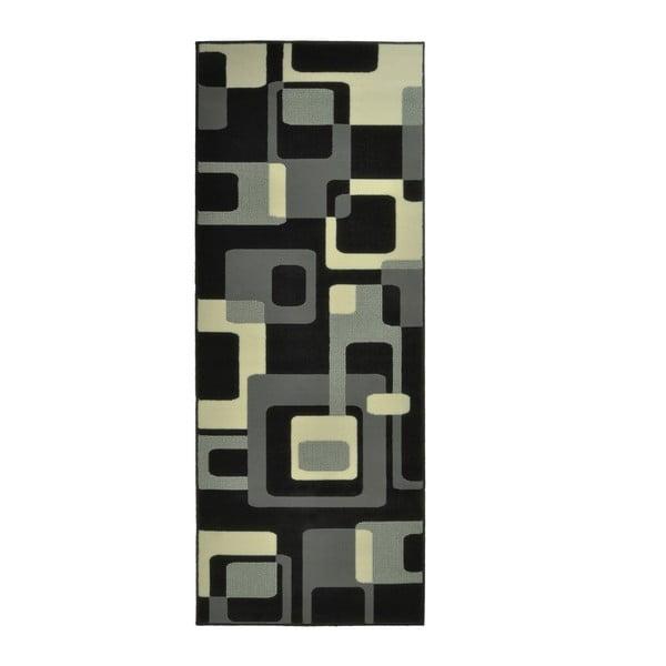 Černý koberec Hanse Home Hamla Retro, 120x170cm