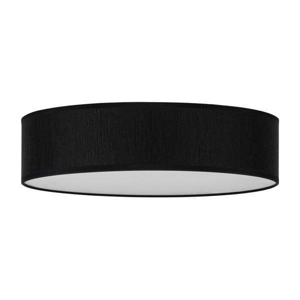 Čierne stropné svietidlo Bulb Attack Doce, ⌀ 40 cm