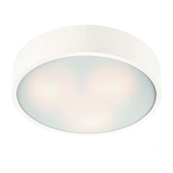 Biele kruhové stropné svietidlo Lamkur Plafond, ø 37 cm
