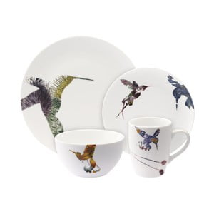 16 dílná porcelánová sada Flutter