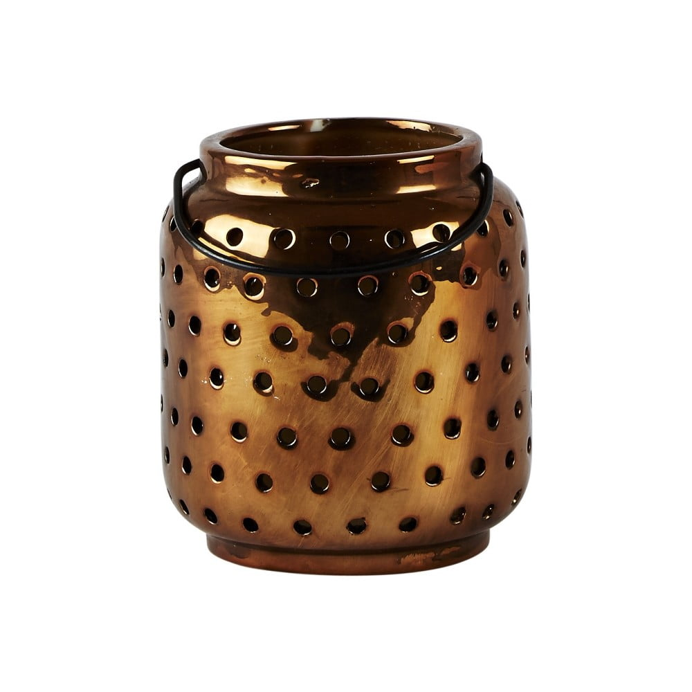 Lucerna KJ Collection Ceramic Copper, 12,4 cm