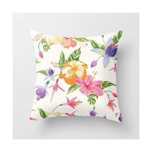 Povlak na polštář Floral IV, 45x45 cm
