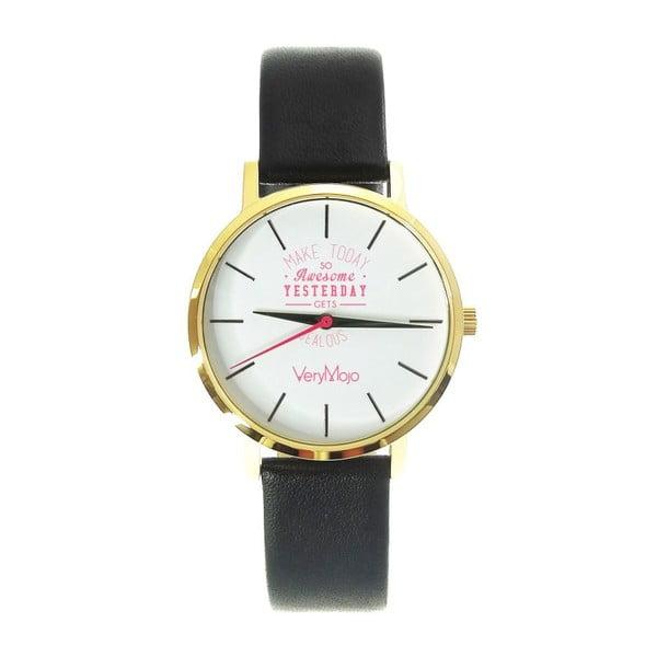 Černé hodinky VeryMojo Make Today
