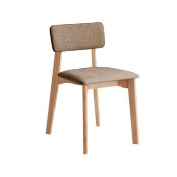 Scaun de birou cu șezut textil DEEP Furniture Max, maro