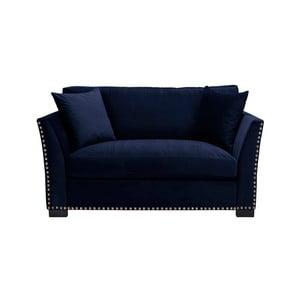 Canapea cu 2 locuri The Classic Living Pierre, albastru