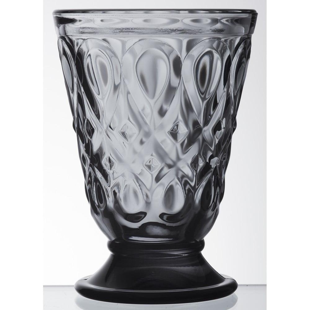 Šedá sklenice La Rochére Lyonnais, 200 ml