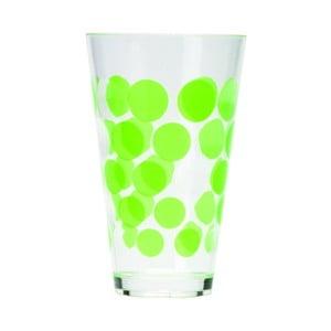 Sklenice Dot Dot 200 ml, zelená