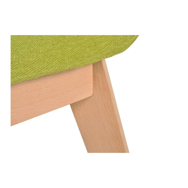Sada 2 zelených židlí Garageeight Nybro