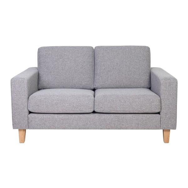 Focus szürke kétszemélyes kanapé - Softnord