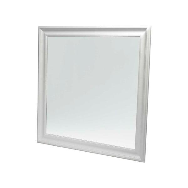Bílé nástěnné zrcadlo Furnhouse Mirror,113x113cm