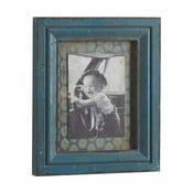 Fotorámeček Antique, modrý
