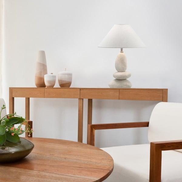 Stolní lampa Evergreen Lights Stone