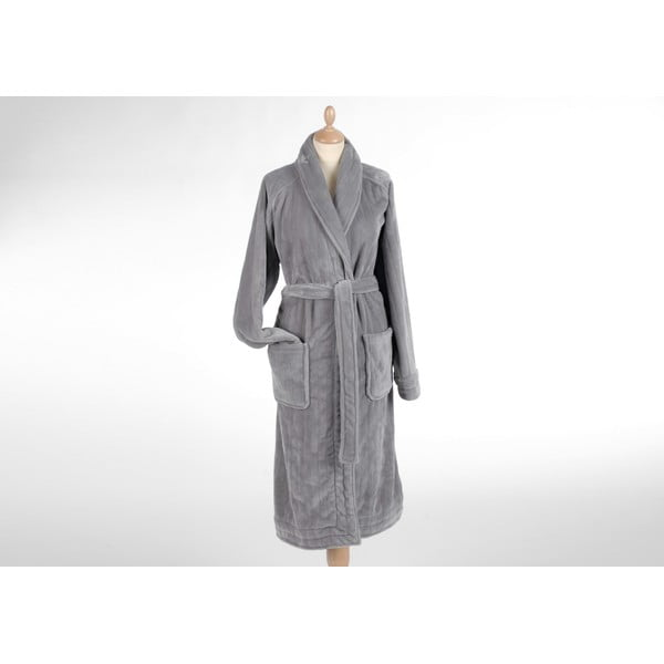 Župan Coccon Stripe Light Grey, vel. M/L