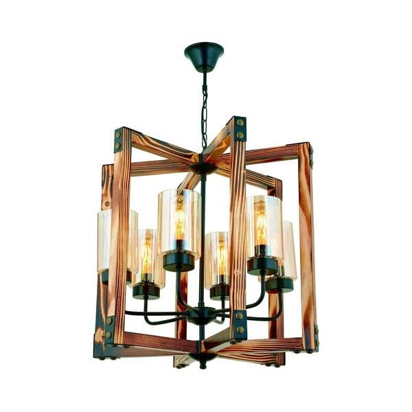 Závěsné svítidlo z habrového dřeva Tubo