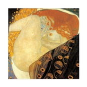 Obraz Klimt - Danae, 30x30 cm