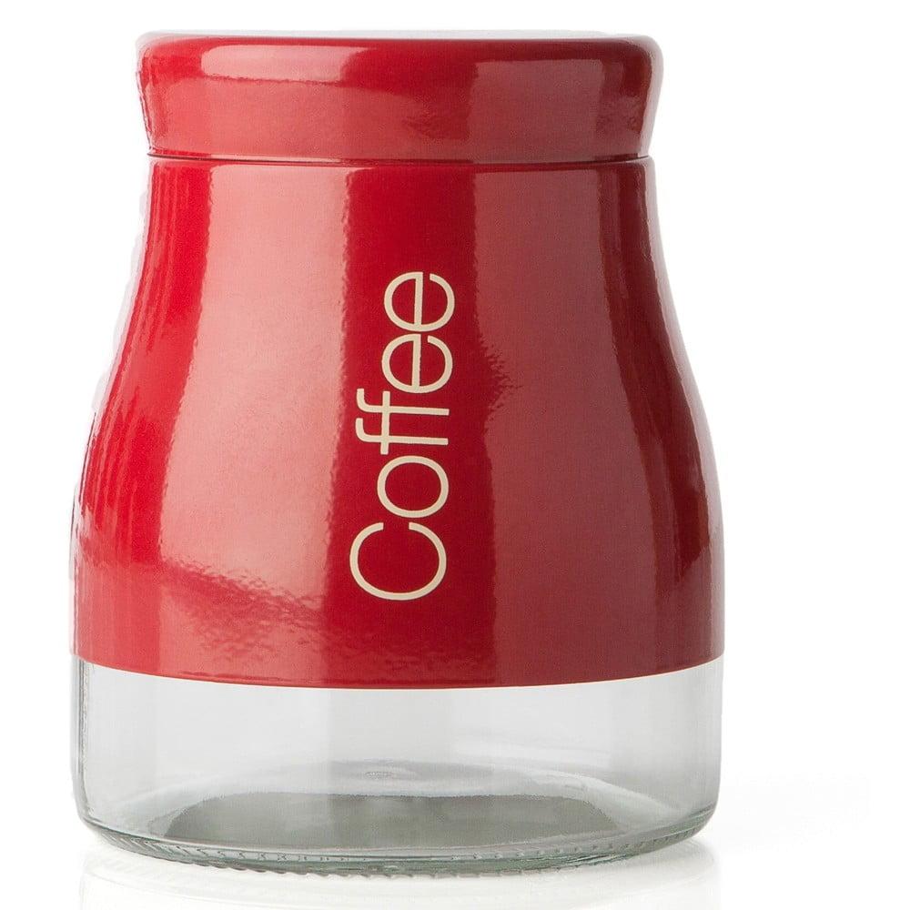 Červená dóza na kávu Sabichi Coffee, 700 ml